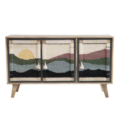 mueble multicolor combinado de Bloomingville