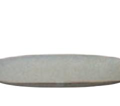 Vert Sauge Oval Plate_16657